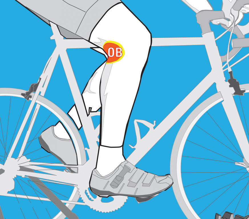 Eliminate cycling pain and discomfort with bikefit for Exterior knee pain