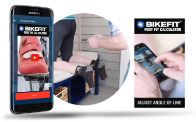 The Foot Fit Calculator App for Cyclists: Customize Your Foot/Pedal Connection