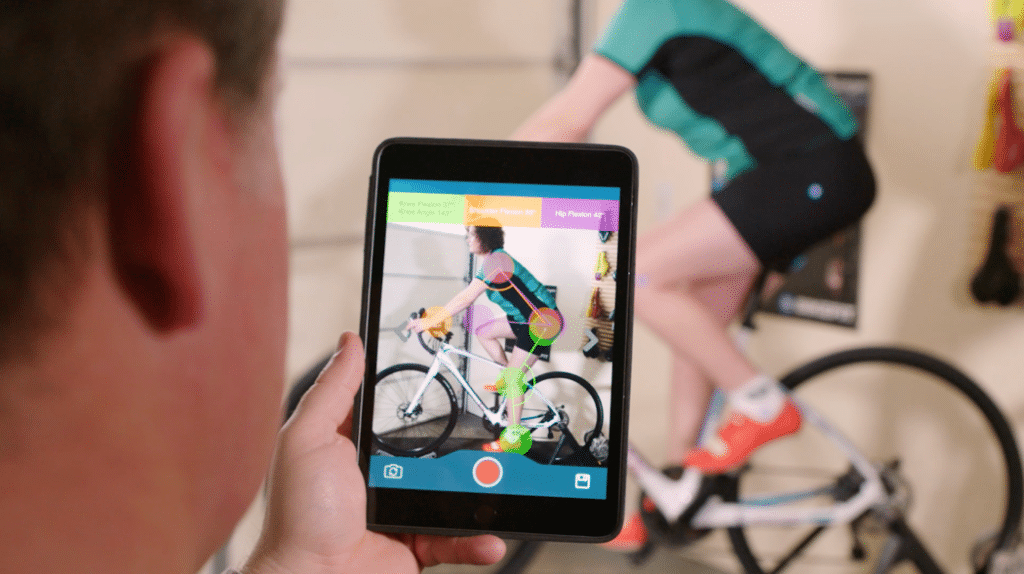 bikefit pro app goniometer road bike fitting