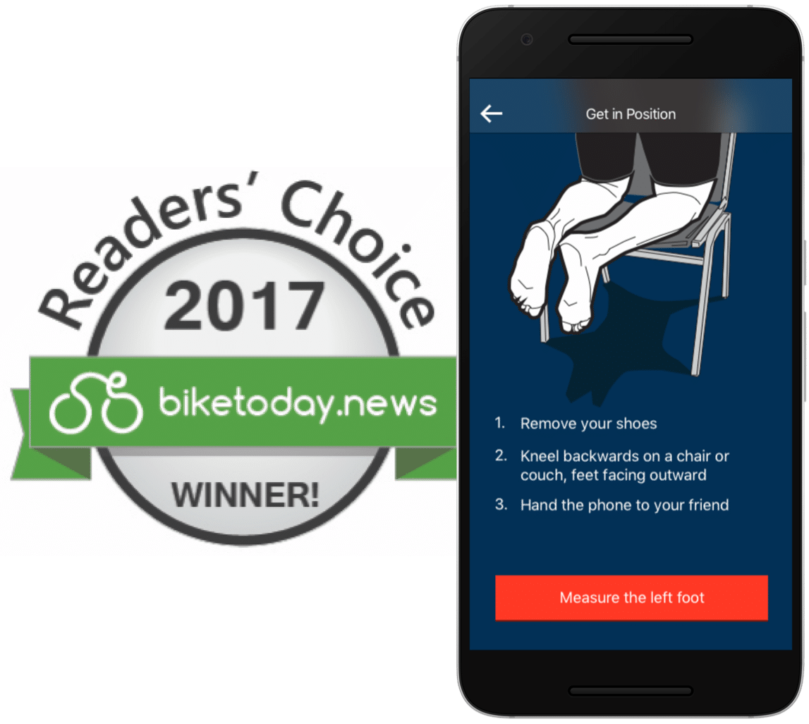 BikeFit Apps: The Fitter App for iPad/iPhone and the Foot